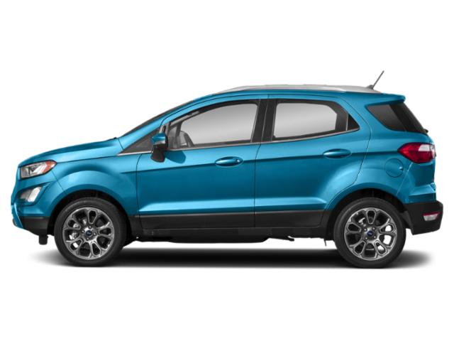 Blue Candy Metallic Tinted Clearcoat 2019 Ford EcoSport Pictures EcoSport Titanium FWD photos side view