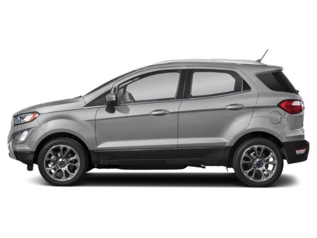 Moondust Silver Metallic 2019 Ford EcoSport Pictures EcoSport Titanium 4WD photos side view