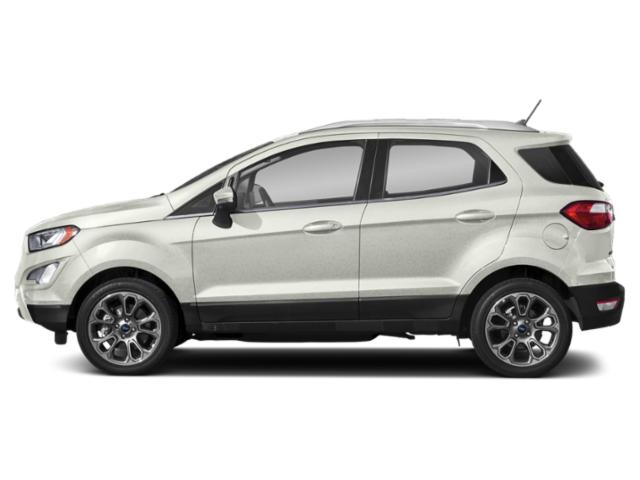 White Platinum Metallic Tri-Coat 2019 Ford EcoSport Pictures EcoSport Titanium 4WD photos side view