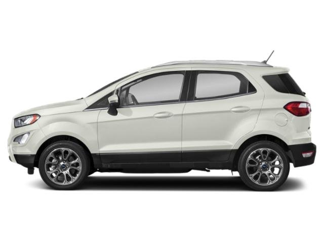 Diamond White 2019 Ford EcoSport Pictures EcoSport Titanium 4WD photos side view
