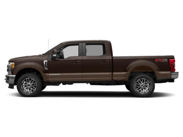Magma Red Metallic 2019 Ford Super Duty F-250 SRW Pictures Super Duty F-250 SRW King Ranch 4WD Crew Cab 6.75' Box photos side view