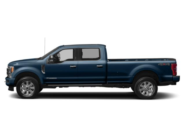 Blue Jeans Metallic 2019 Ford Super Duty F-250 SRW Pictures Super Duty F-250 SRW Platinum 4WD Crew Cab 6.75' Box photos side view