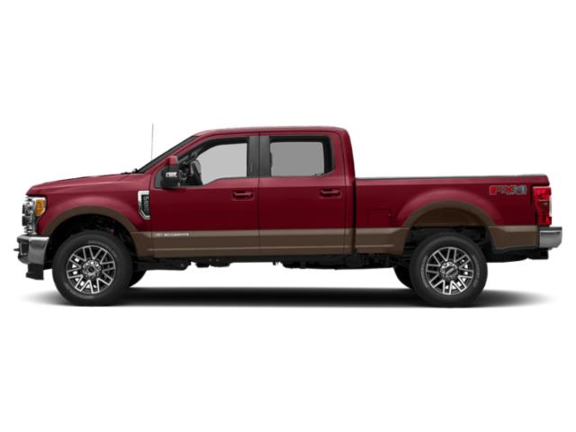 Ruby Red Metallic Tinted Clearcoat 2019 Ford Super Duty F-250 SRW Pictures Super Duty F-250 SRW King Ranch 4WD Crew Cab 8' Box photos side view