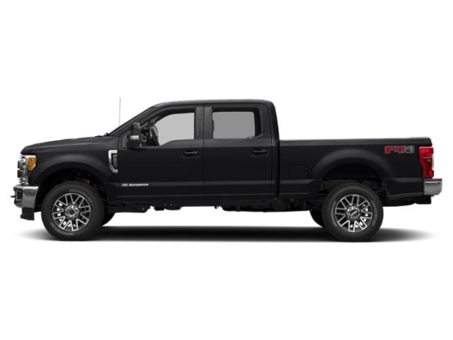 Agate Black Metallic 2019 Ford Super Duty F-250 SRW Pictures Super Duty F-250 SRW LARIAT 4WD Crew Cab 8' Box photos side view