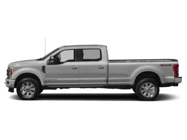 Ingot Silver Metallic 2019 Ford Super Duty F-250 SRW Pictures Super Duty F-250 SRW Platinum 4WD Crew Cab 6.75' Box photos side view