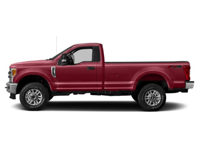 Ruby Red Metallic Tinted Clearcoat 2019 Ford Super Duty F-250 SRW Pictures Super Duty F-250 SRW XLT 4WD Reg Cab 8' Box photos side view