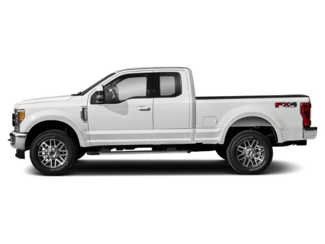 Oxford White 2019 Ford Super Duty F-250 SRW Pictures Super Duty F-250 SRW LARIAT 4WD SuperCab 8' Box photos side view