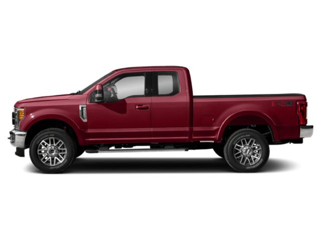 Ruby Red Metallic Tinted Clearcoat 2019 Ford Super Duty F-250 SRW Pictures Super Duty F-250 SRW LARIAT 4WD SuperCab 8' Box photos side view