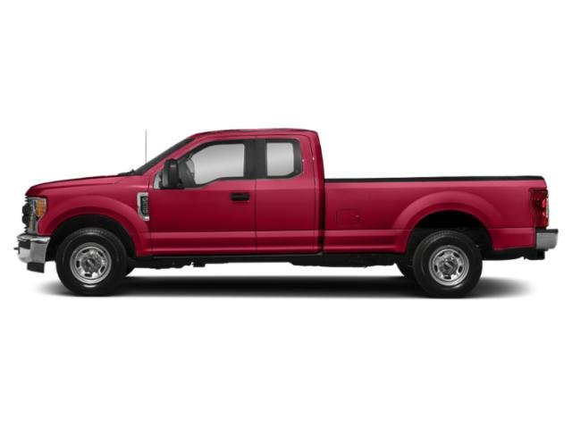 Vermillion Red 2019 Ford Super Duty F-250 SRW Pictures Super Duty F-250 SRW XL 2WD SuperCab 8' Box photos side view