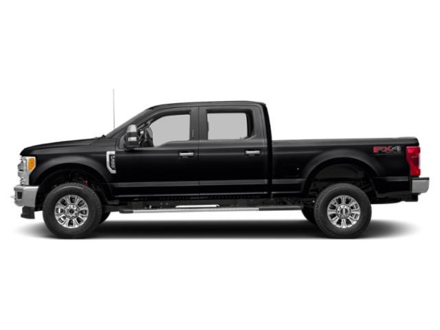 Agate Black Metallic 2019 Ford Super Duty F-250 SRW Pictures Super Duty F-250 SRW XLT 2WD Crew Cab 8' Box photos side view