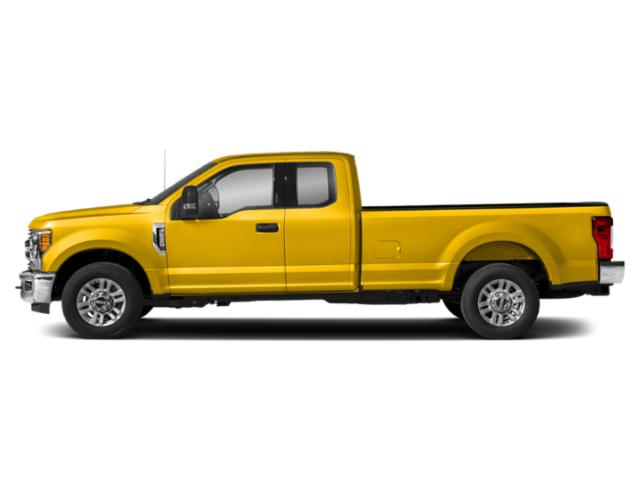 Yellow 2019 Ford Super Duty F-250 SRW Pictures Super Duty F-250 SRW XLT 2WD SuperCab 8' Box photos side view