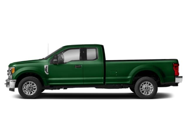 Green 2019 Ford Super Duty F-250 SRW Pictures Super Duty F-250 SRW XLT 2WD SuperCab 8' Box photos side view