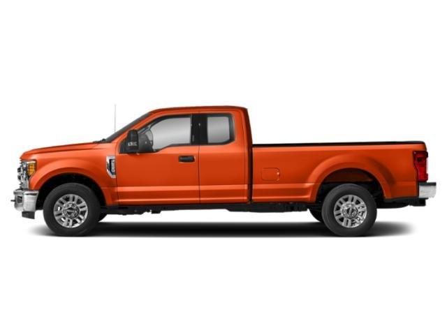 Orange 2019 Ford Super Duty F-250 SRW Pictures Super Duty F-250 SRW XLT 2WD SuperCab 8' Box photos side view
