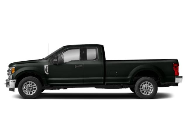 Green Gem 2019 Ford Super Duty F-250 SRW Pictures Super Duty F-250 SRW XLT 2WD SuperCab 8' Box photos side view