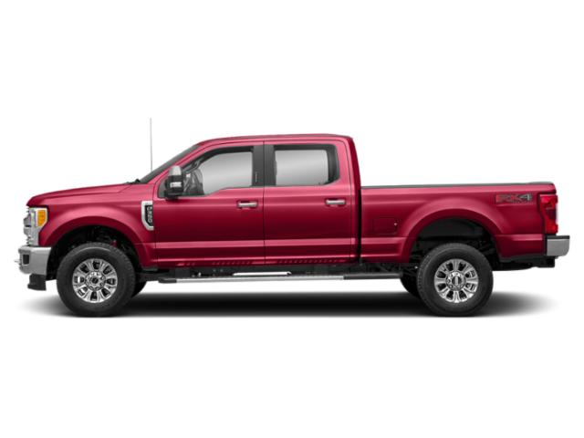 Vermillion Red 2019 Ford Super Duty F-250 SRW Pictures Super Duty F-250 SRW XLT 2WD Crew Cab 8' Box photos side view