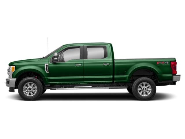 Green 2019 Ford Super Duty F-250 SRW Pictures Super Duty F-250 SRW XLT 2WD Crew Cab 8' Box photos side view