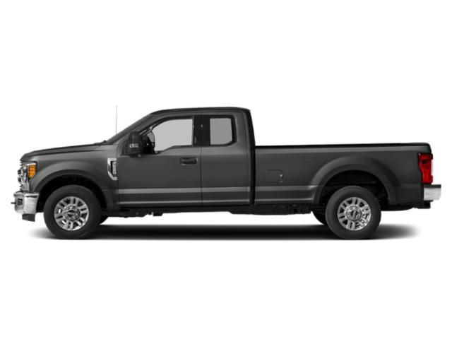 Magnetic Metallic 2019 Ford Super Duty F-250 SRW Pictures Super Duty F-250 SRW XLT 2WD SuperCab 8' Box photos side view
