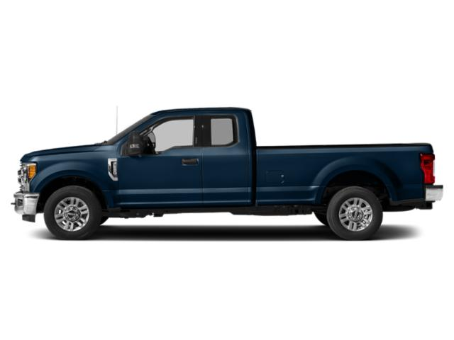 Blue Jeans Metallic 2019 Ford Super Duty F-250 SRW Pictures Super Duty F-250 SRW XLT 2WD SuperCab 8' Box photos side view