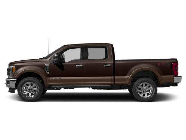 Magma Red Metallic 2019 Ford Super Duty F-350 SRW Pictures Super Duty F-350 SRW King Ranch 2WD Crew Cab 8' Box photos side view