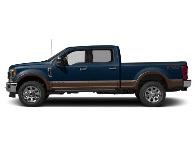 Blue Jeans Metallic 2019 Ford Super Duty F-350 SRW Pictures Super Duty F-350 SRW King Ranch 2WD Crew Cab 8' Box photos side view
