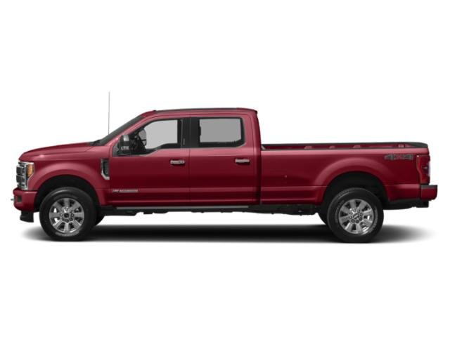 Ruby Red Metallic Tinted Clearcoat 2019 Ford Super Duty F-350 SRW Pictures Super Duty F-350 SRW Platinum 4WD Crew Cab 8' Box photos side view