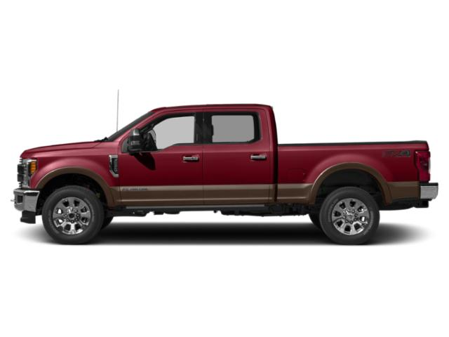 Ruby Red Metallic Tinted Clearcoat 2019 Ford Super Duty F-350 SRW Pictures Super Duty F-350 SRW King Ranch 4WD Crew Cab 6.75' Box photos side view
