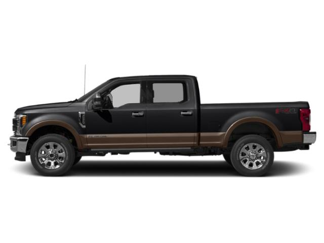 Agate Black Metallic 2019 Ford Super Duty F-350 SRW Pictures Super Duty F-350 SRW King Ranch 4WD Crew Cab 6.75' Box photos side view