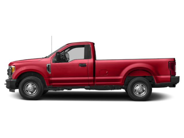 Race Red 2019 Ford Super Duty F-350 SRW Pictures Super Duty F-350 SRW XL 2WD Reg Cab 8' Box photos side view