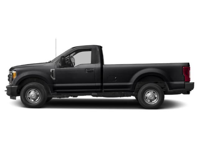 Agate Black Metallic 2019 Ford Super Duty F-350 SRW Pictures Super Duty F-350 SRW XL 2WD Reg Cab 8' Box photos side view
