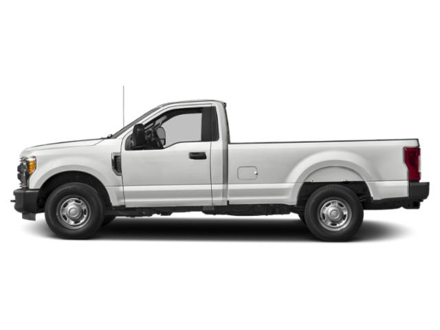 Oxford White 2019 Ford Super Duty F-350 SRW Pictures Super Duty F-350 SRW XL 2WD Reg Cab 8' Box photos side view