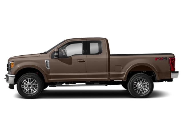 Stone Gray Metallic 2019 Ford Super Duty F-350 SRW Pictures Super Duty F-350 SRW LARIAT 2WD SuperCab 8' Box photos side view