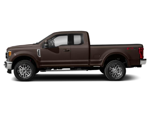Magma Red Metallic 2019 Ford Super Duty F-350 SRW Pictures Super Duty F-350 SRW LARIAT 2WD SuperCab 8' Box photos side view