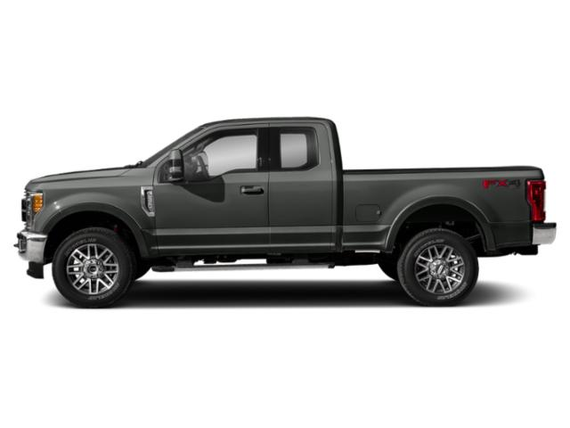 Magnetic Metallic 2019 Ford Super Duty F-350 SRW Pictures Super Duty F-350 SRW LARIAT 2WD SuperCab 8' Box photos side view