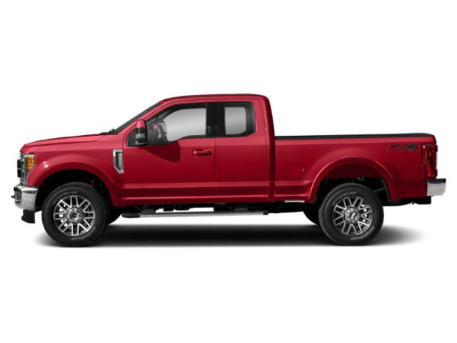 Race Red 2019 Ford Super Duty F-350 SRW Pictures Super Duty F-350 SRW LARIAT 2WD SuperCab 8' Box photos side view