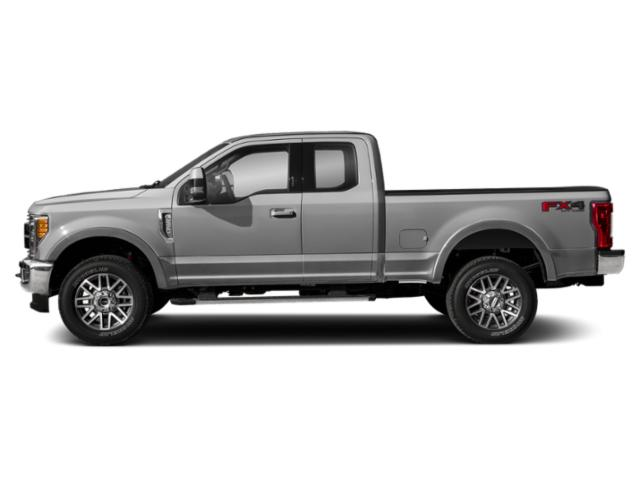 Ingot Silver Metallic 2019 Ford Super Duty F-350 SRW Pictures Super Duty F-350 SRW LARIAT 2WD SuperCab 8' Box photos side view