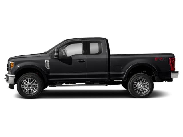 Agate Black Metallic 2019 Ford Super Duty F-350 SRW Pictures Super Duty F-350 SRW LARIAT 2WD SuperCab 8' Box photos side view