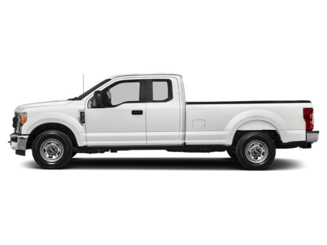 Oxford White 2019 Ford Super Duty F-350 SRW Pictures Super Duty F-350 SRW XL 4WD SuperCab 8' Box photos side view