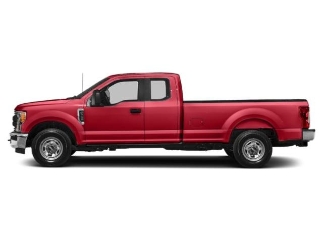 Race Red 2019 Ford Super Duty F-350 SRW Pictures Super Duty F-350 SRW XL 4WD SuperCab 8' Box photos side view
