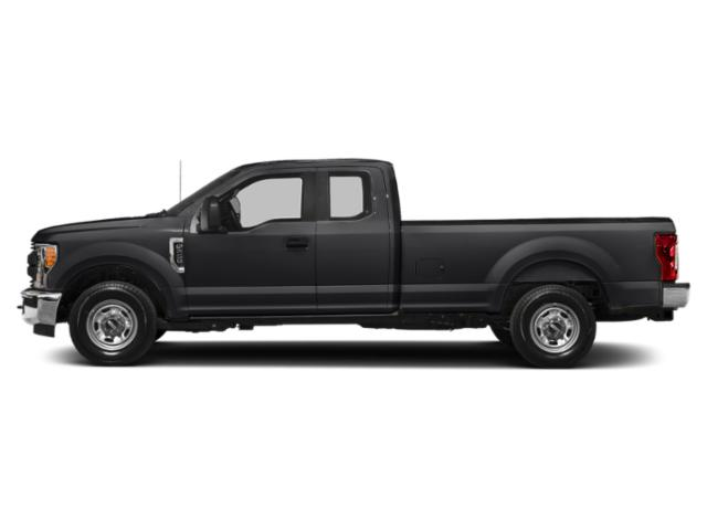 Agate Black Metallic 2019 Ford Super Duty F-350 SRW Pictures Super Duty F-350 SRW XL 4WD SuperCab 8' Box photos side view