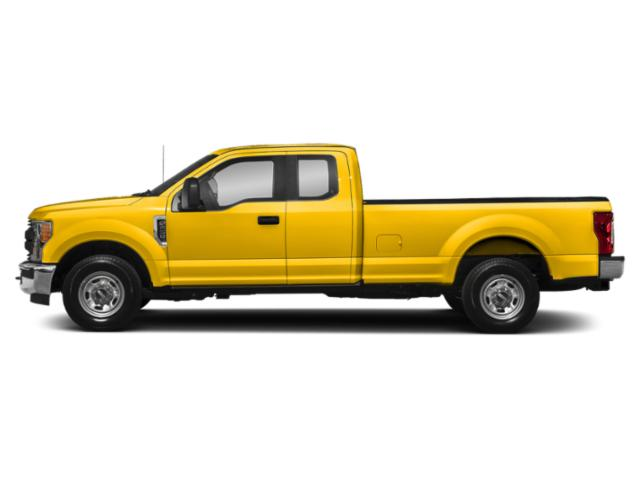 Yellow 2019 Ford Super Duty F-350 SRW Pictures Super Duty F-350 SRW XL 4WD SuperCab 8' Box photos side view