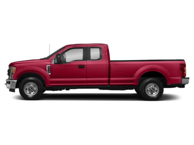 Vermillion Red 2019 Ford Super Duty F-350 SRW Pictures Super Duty F-350 SRW XL 4WD SuperCab 8' Box photos side view
