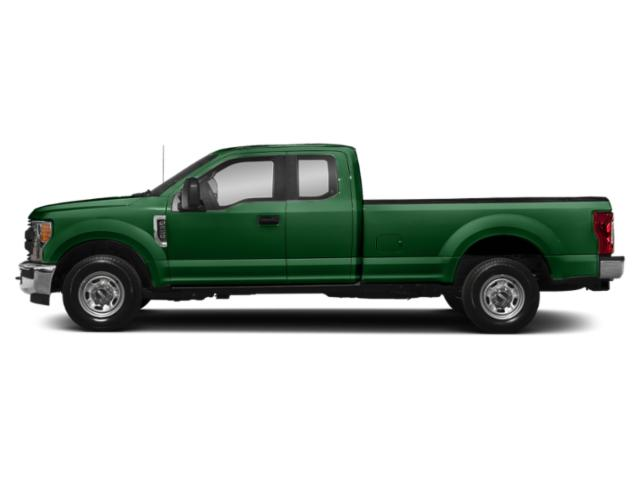 Green 2019 Ford Super Duty F-350 SRW Pictures Super Duty F-350 SRW XL 4WD SuperCab 8' Box photos side view