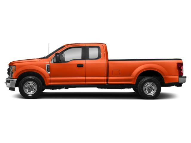 Orange 2019 Ford Super Duty F-350 SRW Pictures Super Duty F-350 SRW XL 4WD SuperCab 8' Box photos side view