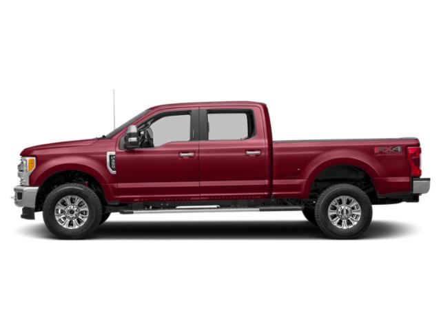 Ruby Red Metallic Tinted Clearcoat 2019 Ford Super Duty F-350 SRW Pictures Super Duty F-350 SRW XLT 2WD Crew Cab 8' Box photos side view
