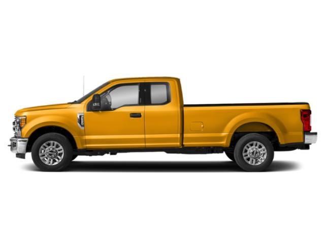 School Bus Yellow 2019 Ford Super Duty F-350 SRW Pictures Super Duty F-350 SRW XLT 4WD SuperCab 8' Box photos side view