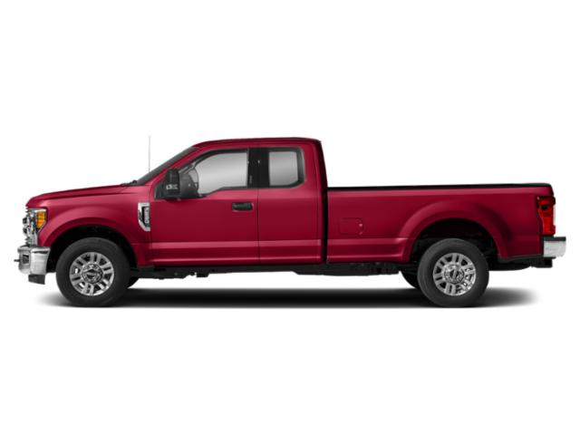 Vermillion Red 2019 Ford Super Duty F-350 SRW Pictures Super Duty F-350 SRW XLT 4WD SuperCab 8' Box photos side view