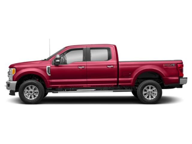 Vermillion Red 2019 Ford Super Duty F-350 SRW Pictures Super Duty F-350 SRW XLT 2WD Crew Cab 8' Box photos side view