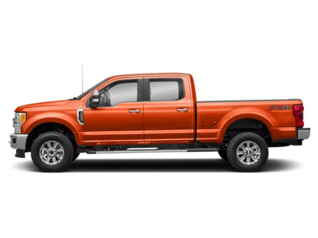 Orange 2019 Ford Super Duty F-350 SRW Pictures Super Duty F-350 SRW XLT 2WD Crew Cab 8' Box photos side view