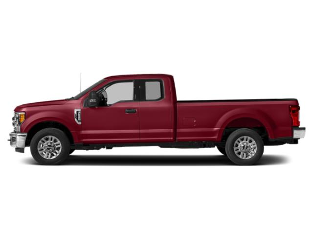 Ruby Red Metallic Tinted Clearcoat 2019 Ford Super Duty F-350 SRW Pictures Super Duty F-350 SRW XLT 4WD SuperCab 8' Box photos side view