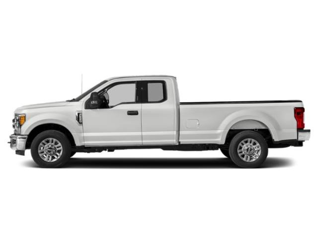 Oxford White 2019 Ford Super Duty F-350 SRW Pictures Super Duty F-350 SRW XLT 4WD SuperCab 8' Box photos side view